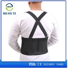 New Magnetic Posture Corrector Spine Support Belt for Men Women Neoprene Back Corset Brace Straightener Shoulder Back Belt Black