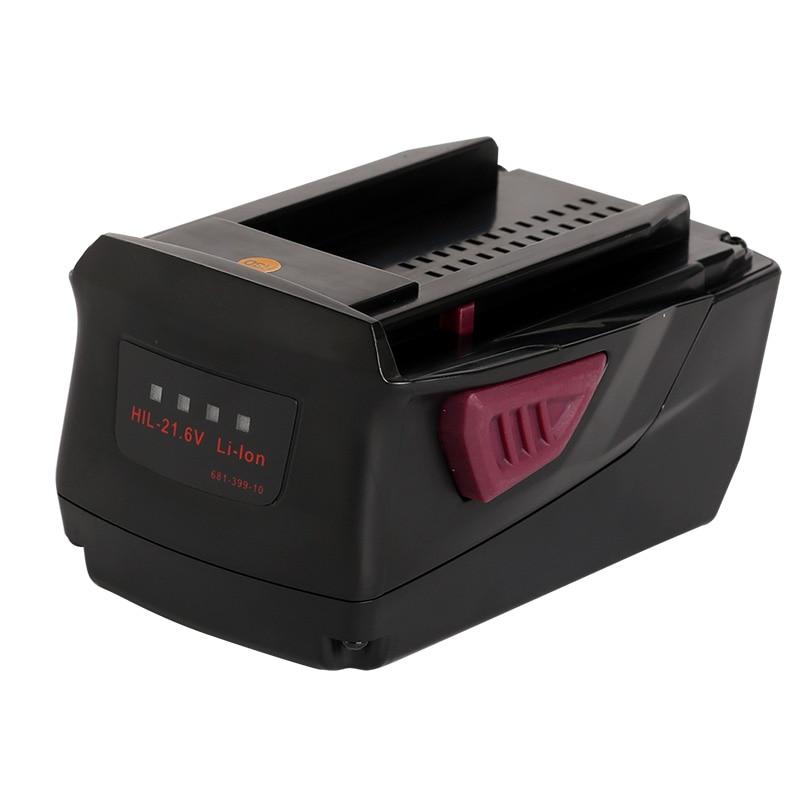 Para Hilti batería de la herramienta eléctrica 21,6 V Li-Ion 4000mAh 4.0Ah...
