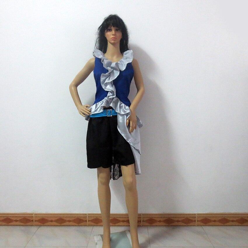 Final Fantasy X Yuna Lenne Song Navidad Fiesta Halloween uniforme traje disfraz personalizado cualquier tamaño