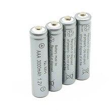 4/6/10/14 pcs/Lot 1.2 V 3000 mAh NiMh AAA batterie Rechargeable Ni-mh 3a Batteries Battria livraison gratuite