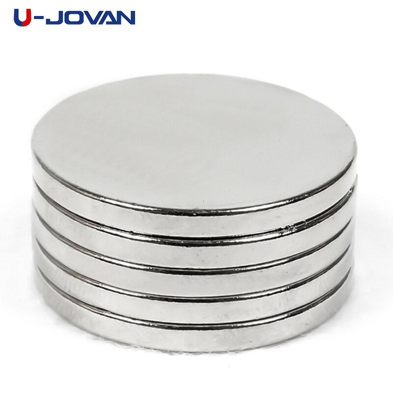 Неодимовые Редкоземельные редкоземельные магниты N35, суперпрочные, 5 шт., 30x3 мм, N35, U-JOVAN
