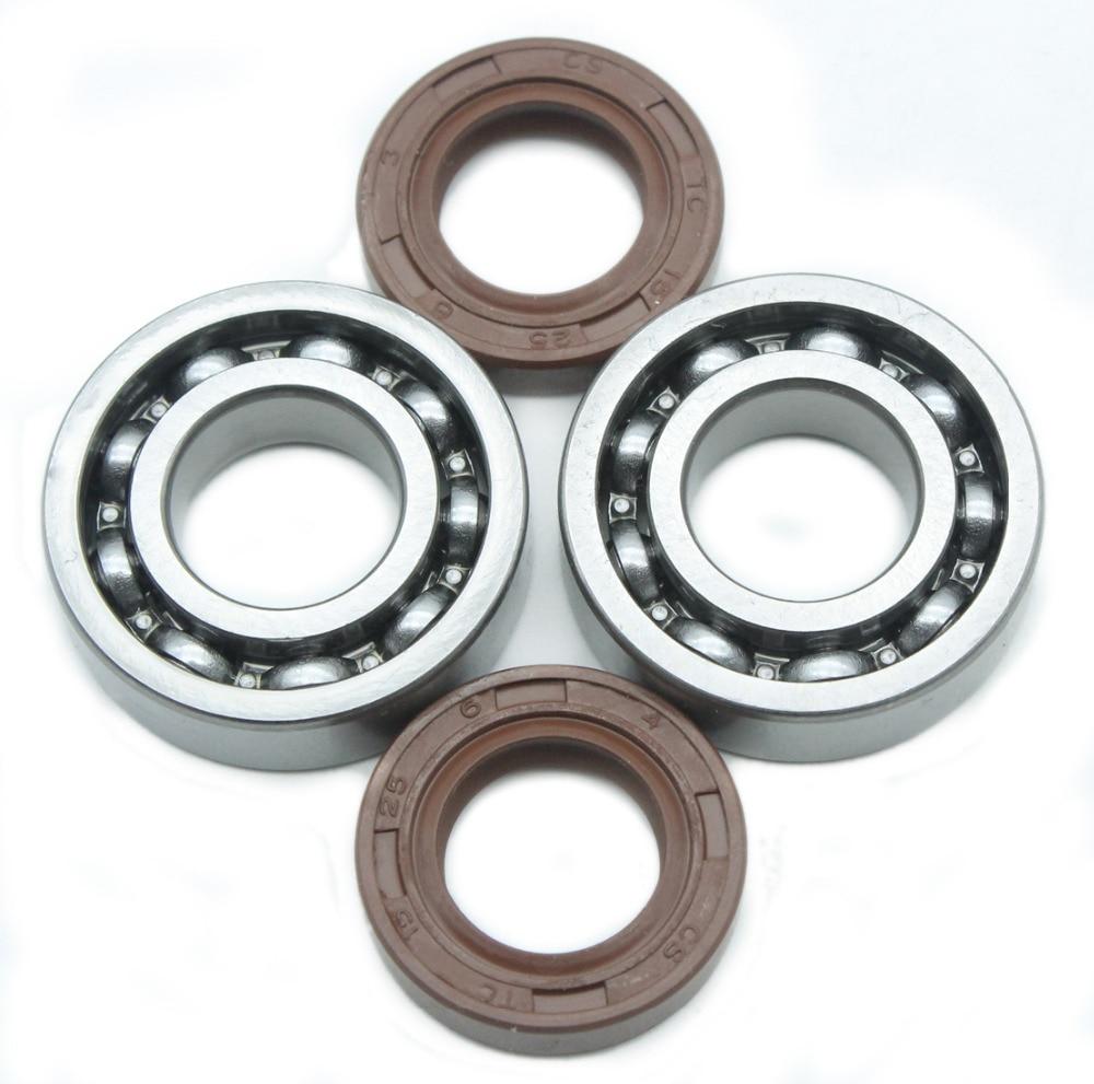 Комплект масляного уплотнения подшипника коленчатого вала для Stihl 018 017 MS170 MS180 MS 170 180 бензопила 2 пары