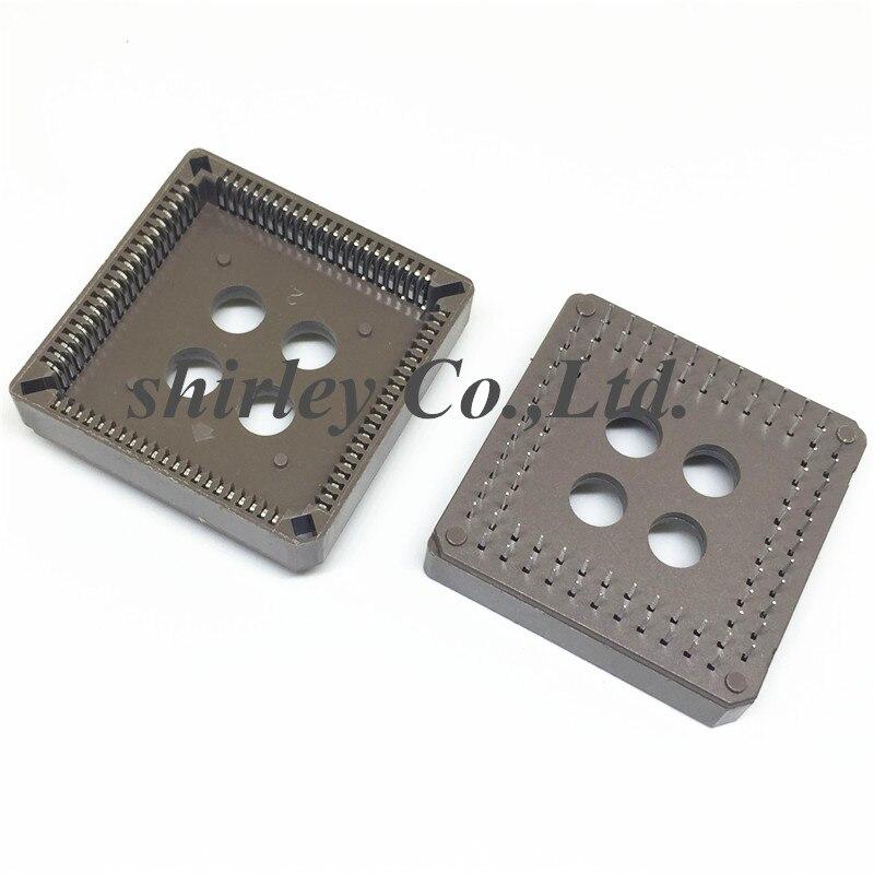 محول قابس PLCC84 DIP 84P ، 100 قطعة ، محول قابس ، نوع PLCC 84pin ، جديد ، 100%