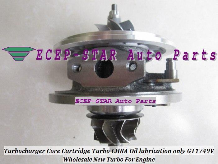 Турбо CHRA картридж Core GT1852V 718089-5008S 718089 Турбокомпрессор для Renault Espace Vel satis Laguna II G9T700 2.2L DCI 150HP