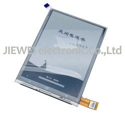Nova 6 ''polegada Display LCD ED060SCE (LF) Para PocketBook 614 tela PB614-D-RU NOOK2
