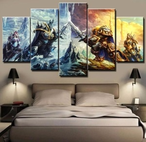 5 Piece HD Print Custom Made Paintings on Canvas Wall Art for Home Decorations Wall Decor Free Shipping