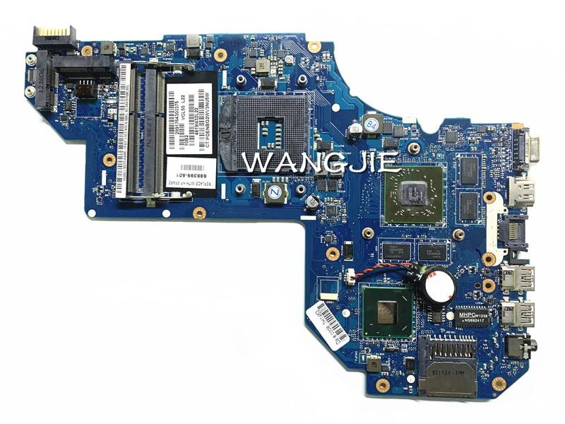 Placa base de ordenador portátil 698399-001 para HP M6 M6-1000 698399-501 LA-8711P HM77, placa de sistema de ordenador portátil 100% totalmente probada