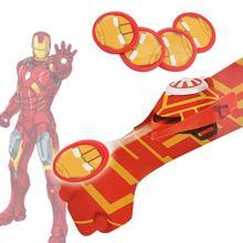 Nouveau 2018 chaud 5styles PVC Batman gant figurine Spiderman lanceur jouet enfants approprié araignée homme Cosplay jouets livraison gratuite