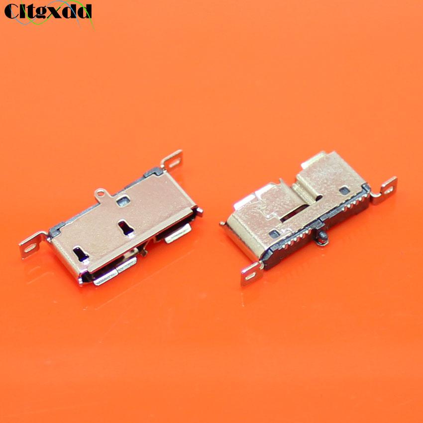 Cltgxdd 1 piezas Micro USB 3,0 Jack Sockect cola puerto de carga móvil Disco Duro interfaz Micro conector hembra 180 grados vertical