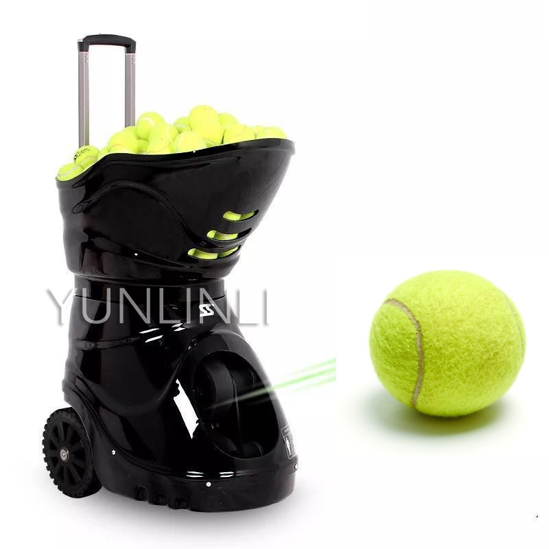 S4015 Lithium Edition Tennis Automatic Ball Machine Trainer Customized Serve Drop Point Speed Frequency Adjustment Trainer