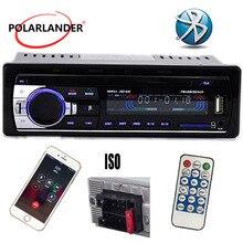 12V autoradio FM Radio MP3 lecteur Audio intégré Bluetooth avec Port USB/SD Audio dans le tableau de bord 1 DIN Auto électronique Subwoofer