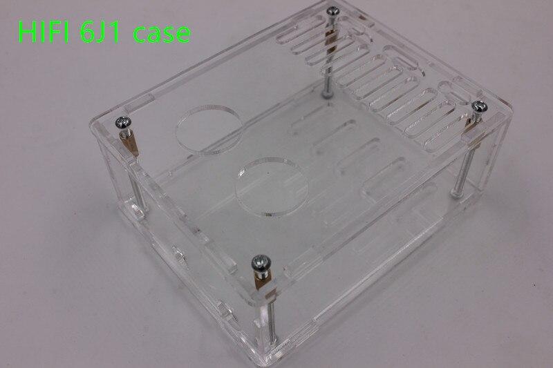 Fall für Diy kits HIFI 6J1 rohr verstärker Kopfhörer verstärker LM1875T power verstärker 30W