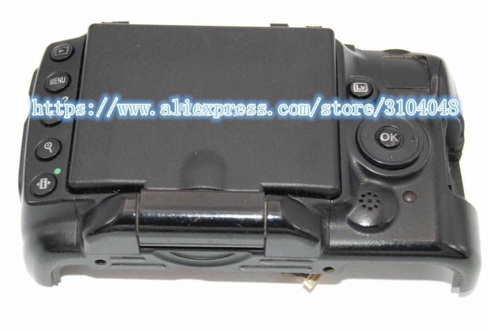 إصلاح أجزاء لنيكون D5000 الغطاء الخلفي الخلفي قذيفة Ass'y مع شاشة الكريستال السائل وحدة مفتاح المغزل الكابلات المرنة