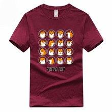 Camiseta divertida SHIBA INU Europa tamaño verano Doge divertida Camiseta de algodón Homme hombres y mujeres Harajuku perro ropa Ω 3000023