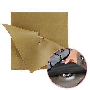 Горячая продажа кухня 4 шт./компл. Защитная крышка для газовой плиты/защитный коврик для подклада многоразовые аксессуары для кухни