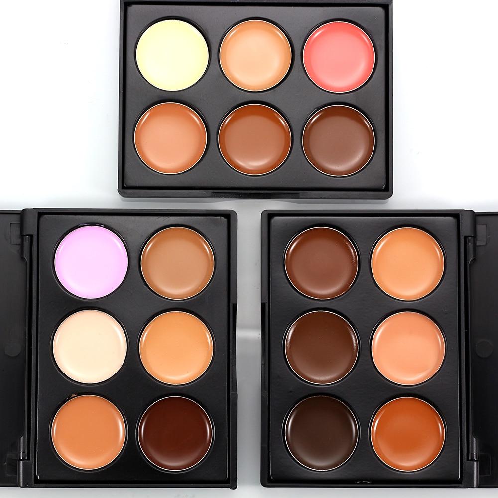 Nueva Marca POPFEEL, corrector Facial, cobertura completa de puntos, paleta de contorno Facial, Kit Pro, paleta de maquillaje correctora de 3 colores, 1 unidad