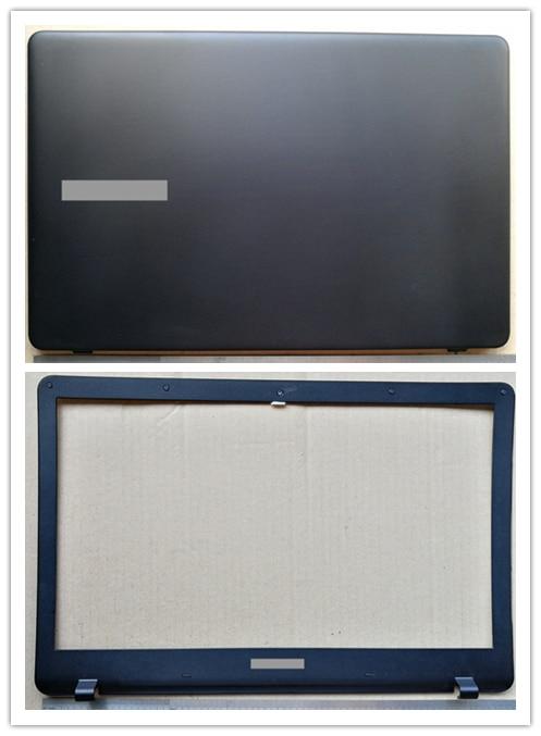 Nueva carcasa superior para portátil, cubierta trasera lcd + Marco de pantalla frontal lcd para samsung NP300E5K 300E5K 300E5L 300E5M 3500EL
