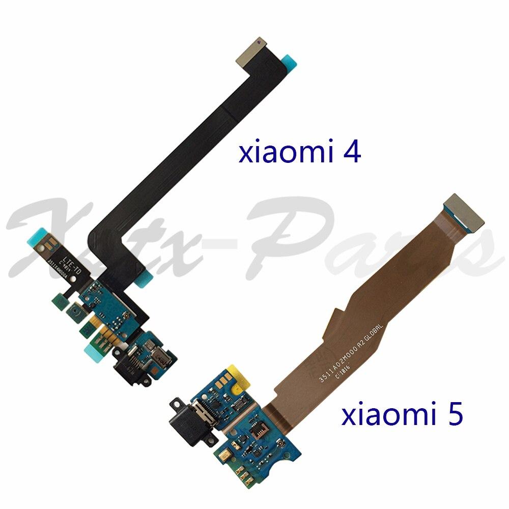 Tarjeta de carga USB con cable flexible y micrófono para Xiaomi 4...