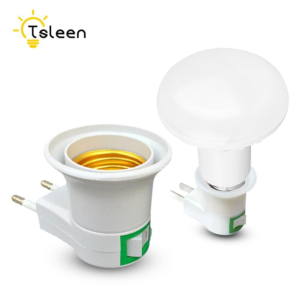 TSLEEN Cheap! E27 Lamp Holder To E14 GU1O B22 LED Light Bulb Adapter Converter Conversion EU UK US Plug Charger Supply