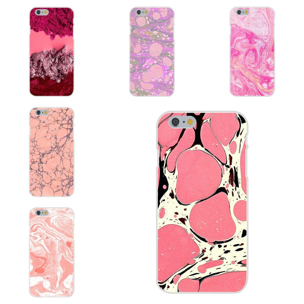 Art Hot Printed Cool Phone Case For Galaxy J1 J2 J3 J330 J4 J5 J6 J7 J730 J8 2015 2016 2017 2018 mini Pro Pink Texture Marble