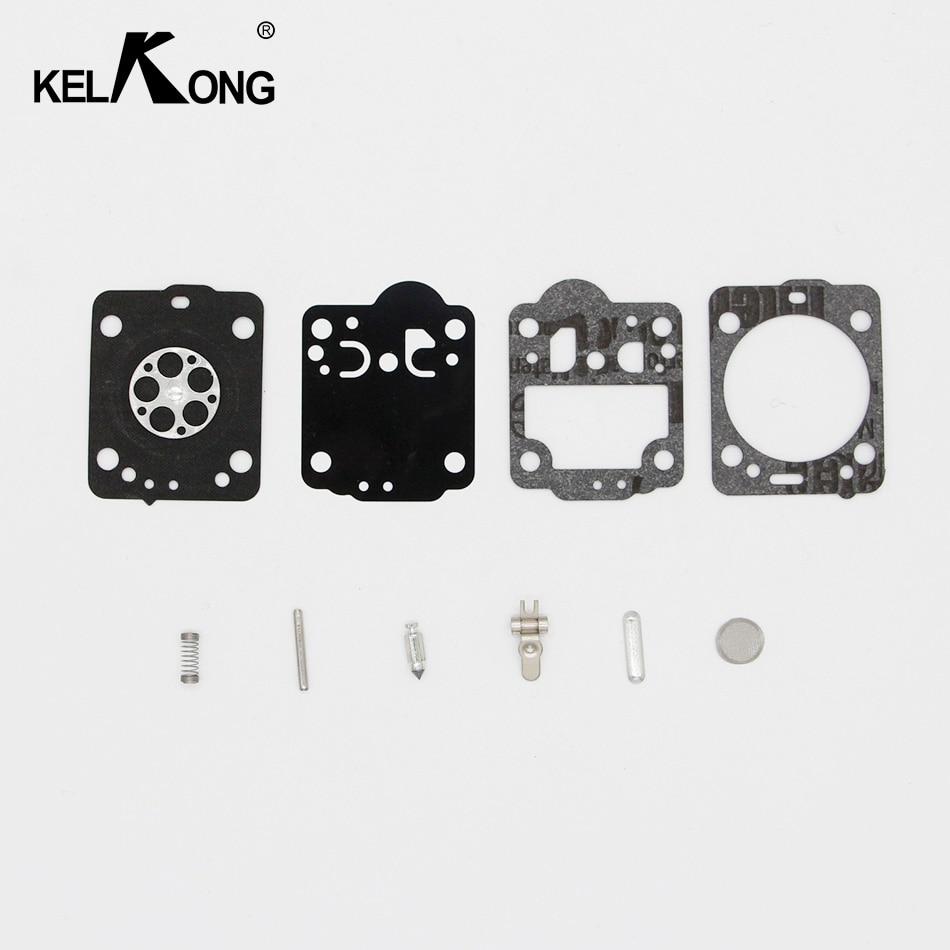 KELKONG Carburetor Rebuild Kit For Husqvarna Chainsaw 235 236 Gasket Diaphragm Repair For JONSERED CS2234 CS 2238 ZAMA Carb Kit