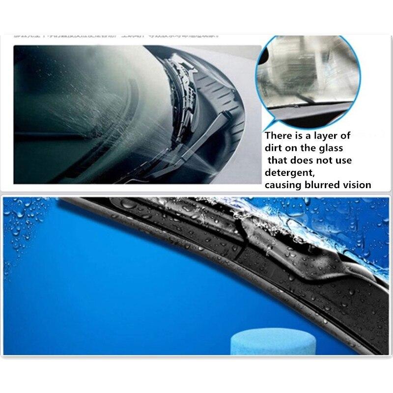 6 unids/pack Limpieza de parabrisas de coche accesorios para automóviles para bmw e90 mazda cx-5 2018 golf 7 gti asiento ibiza fr mazda cx-5 2017, 2018