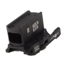 Support à dégagement rapide pour support de lampe de poche à portée de fusil rouge T1 H1