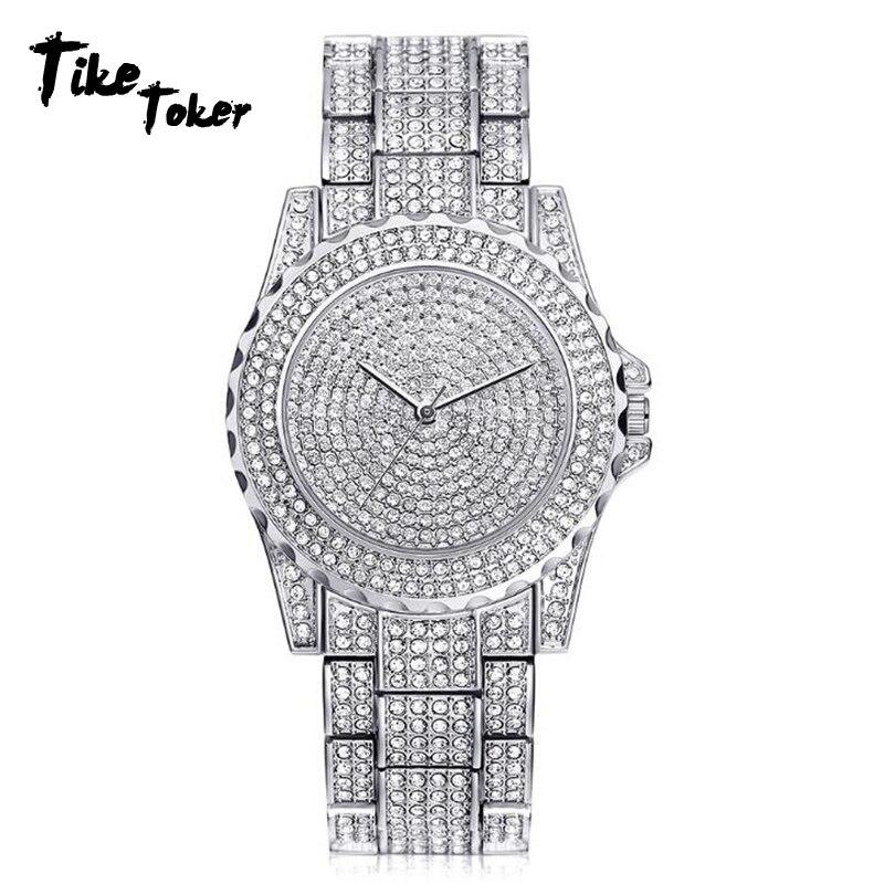 Men's Watches Man Diamond Watch Clock Analog Quartz Vogue Wristwatches Gifts 2018 Luxury Male Watche