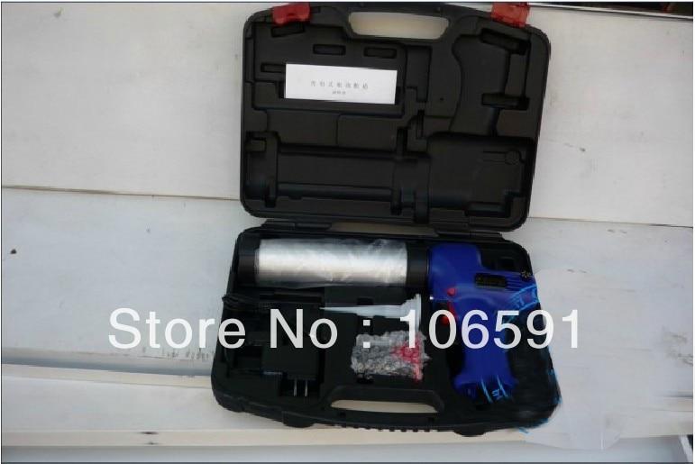electric cordless protable glass caulking silicone Monotube rechargeable electric glue gun, silicone gun
