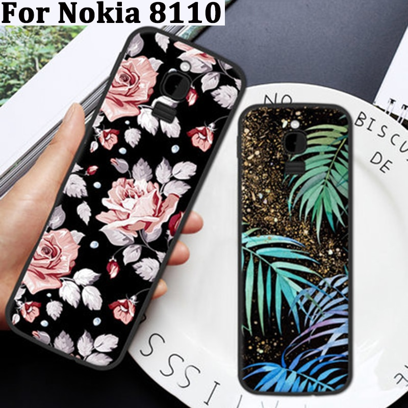 For Nokia 8110 Case Cover soft Case Nokia8110 Back Cover For Nokia TA-1059 Phone Cases coque For Nokia TA1059 skin shell