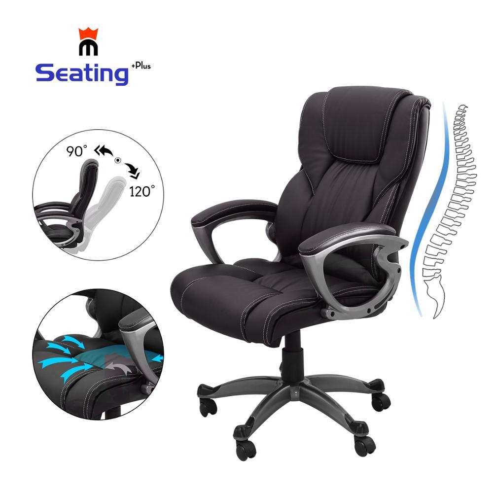 Seatingplus стул с высокой спинкой для домашнего офиса кожаный компьютерный стол