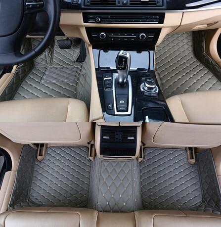 ¡Buena calidad! Alfombrillas especiales personalizadas para Toyota Avalon 2017-2005 alfombras duraderas impermeables para Avalon 2015, envío gratis