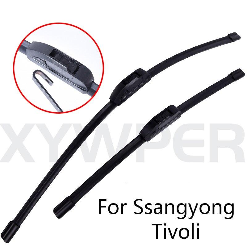 Limpiaparabrisas Winshield Blade para coches para Ssangyong Tivoli desde 2015 2016 2017, limpiaparabrisas, accesorios de coche al por mayor