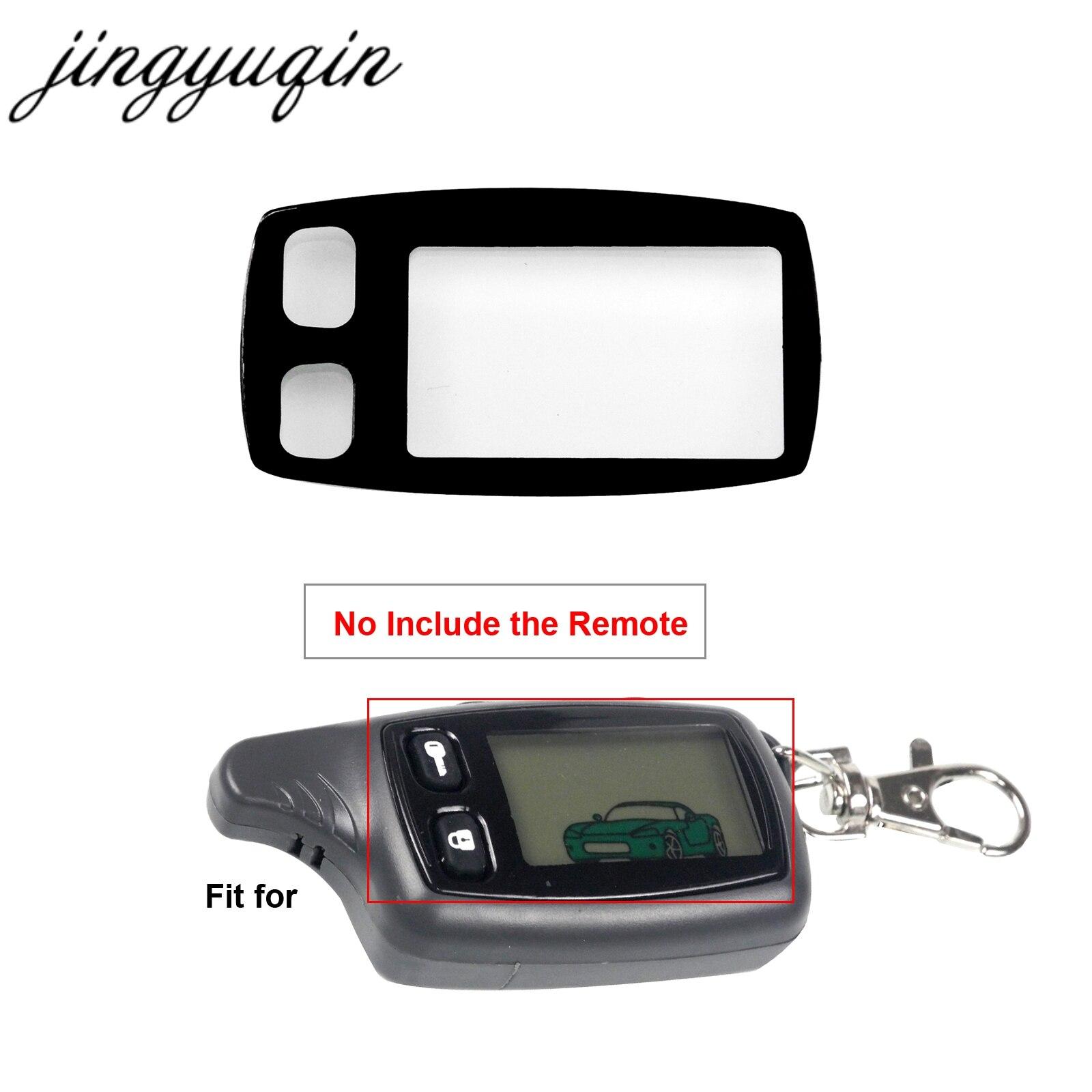LLavero de cristal jingyuqin TW9010/TW9030 para el mando a distancia ruso Tomahawk TZ9010/TZ9030/TW7010/TW9020 LCD bidireccional