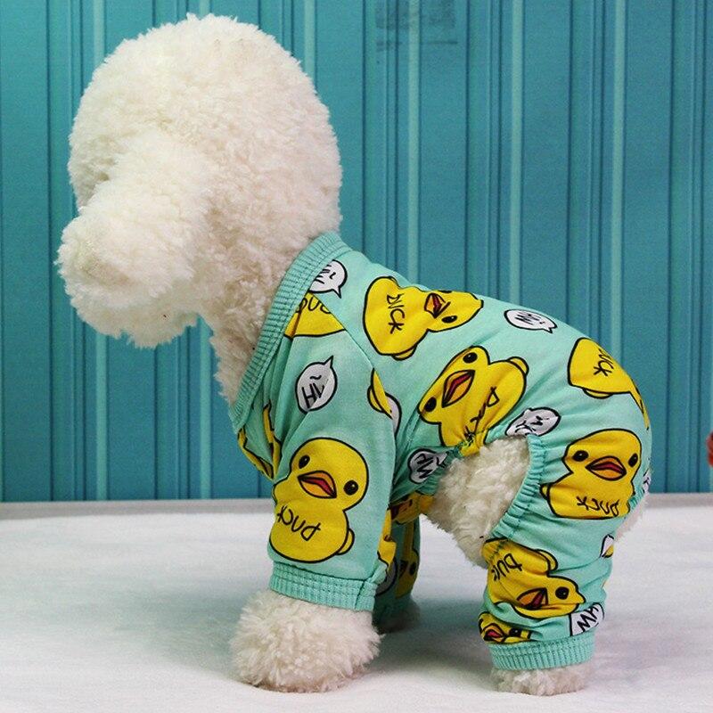 Ropa suave para perro, ropa para perros pequeños, monos para perros, pijamas, ropa para Chihuahua Yorkies, disfraz divertido para mascotas 11aY30Q