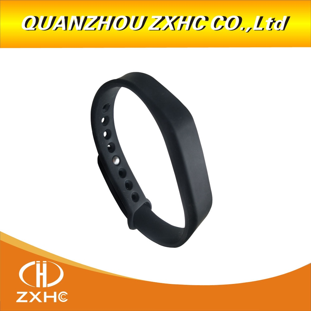 (1 шт./лот) Регулируемый силиконовый Водонепроницаемый RFID блок 0 M1 S50 UID сменный Браслет UID чип Метки