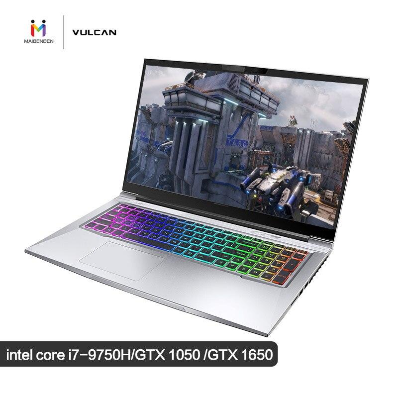 "MaiBenBen X9Plus Intel i7-9750H + GTX1650 4G tarjeta de gráficos/32G RAM/512G + 1TB/DOS/17,3 ""72% NTSC 144Hz Teclado retroiluminado juego portátil"