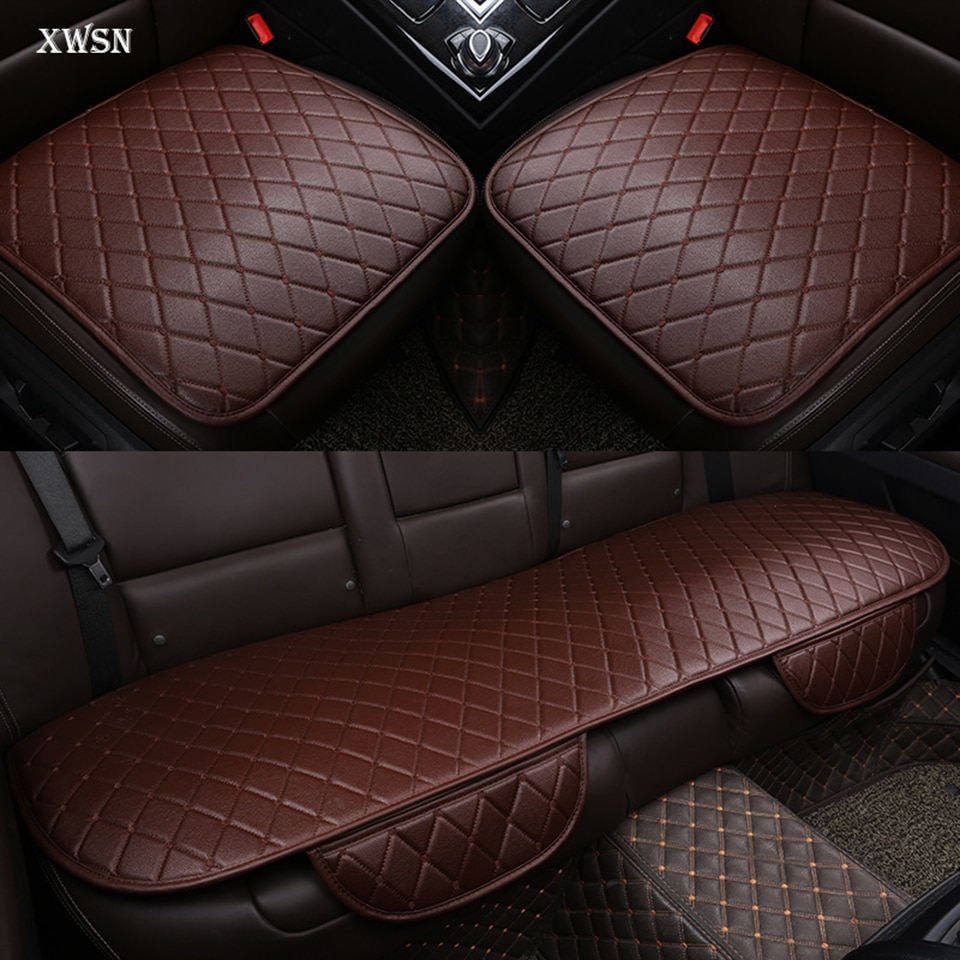 PU Leather Universal  Car Cushion for subaru forester impreza xv 2017 outback car seat cover Car accessories