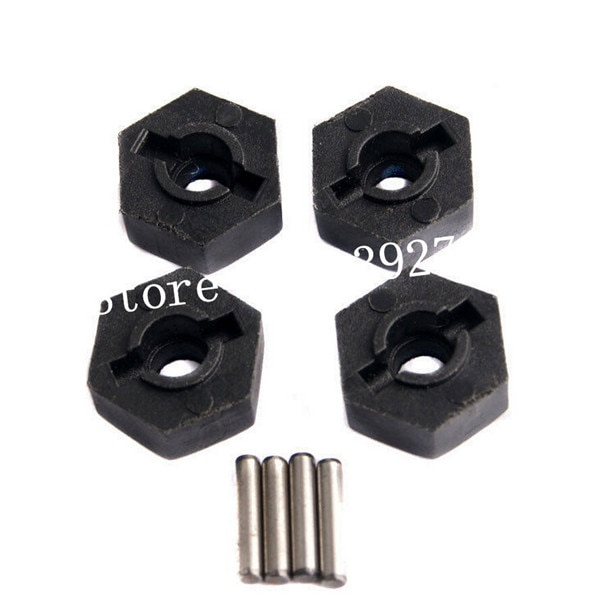 4 unidades/pacote RC HSP 18016 94180 1/10 Escala Carro de Controle Remoto Modelos 4X4 Alpinista Rock Crawler Carros Parte roda Hex. w/Pins (2*10)