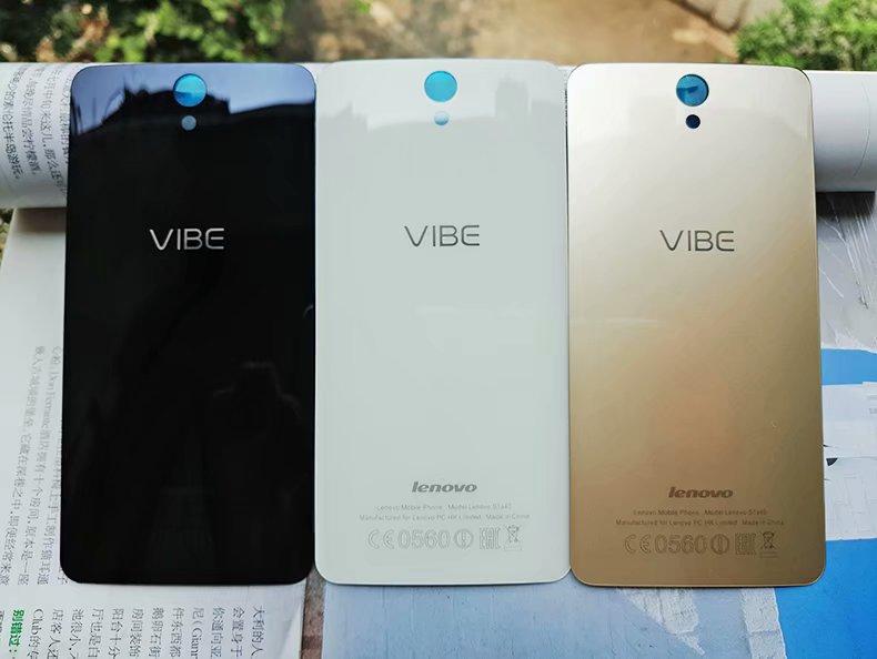 VibeS1 S1a40 Habitação Original Para Lenovo Vibe S1 A40 Real de Vidro Tampa Traseira Porta Da Bateria Caso de Telefone Celular Peças de Reposição