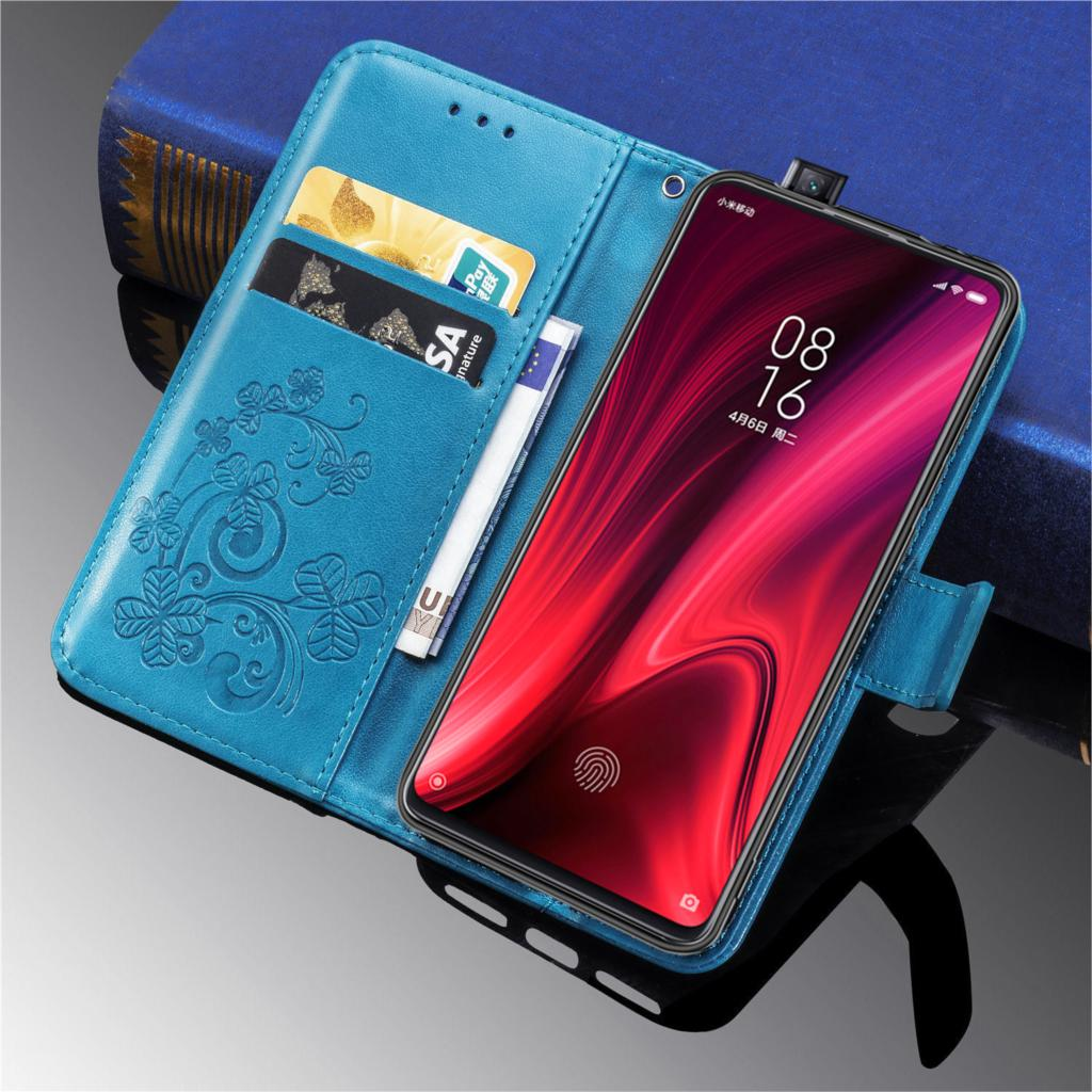 Casos Para Xiao mi mi mi 9 9T Pro Vermelho K20 Capa Flip Case Magnetic Carteira de Couro de Luxo Telefone saco Para Xio mi mi 9 K20pro Livro Caso