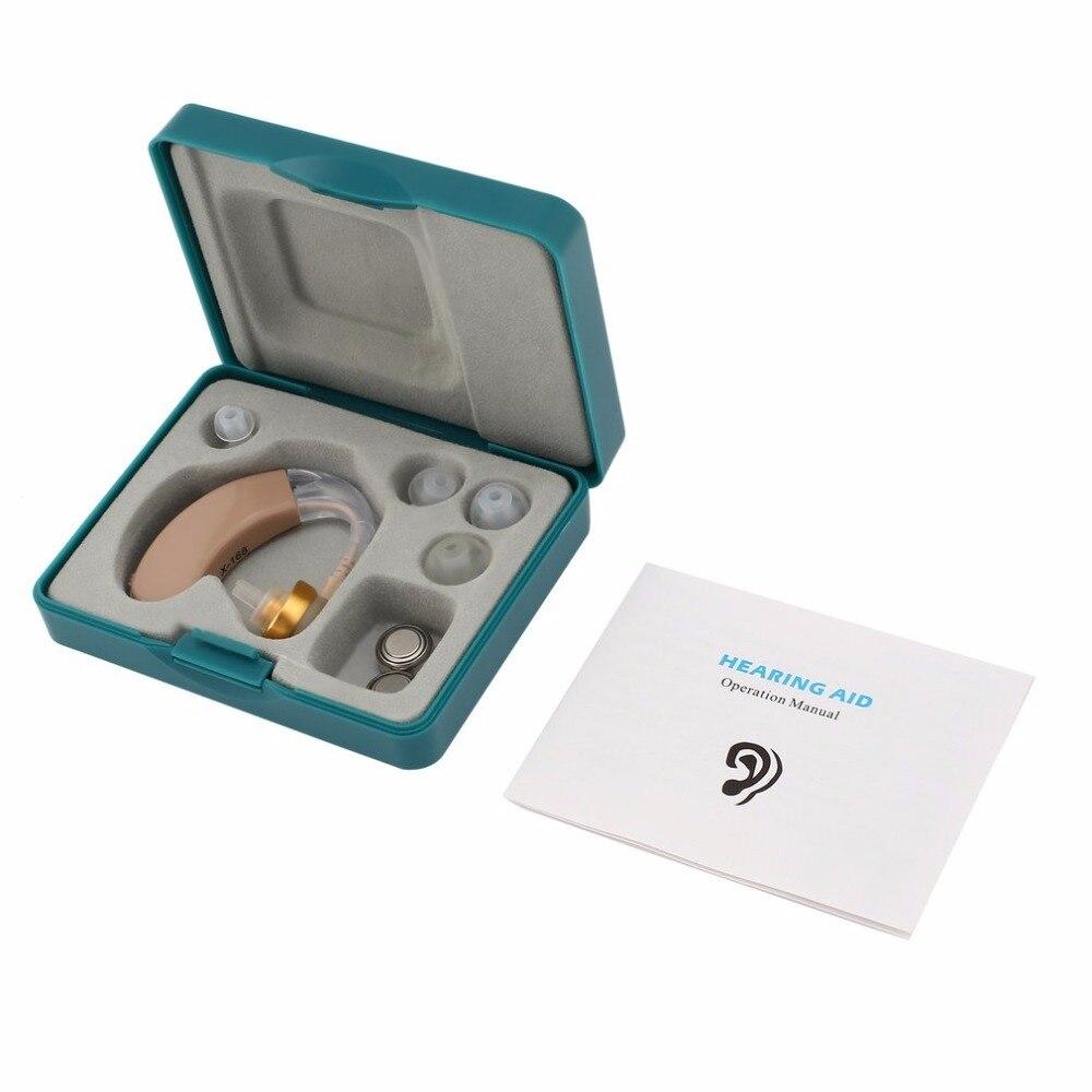 Amplificador de voz, soporte auditivo pequeño, Kit de audífono ajustable detrás del oído, ayuda auditiva, estimulador de sonido, cuidado del oído
