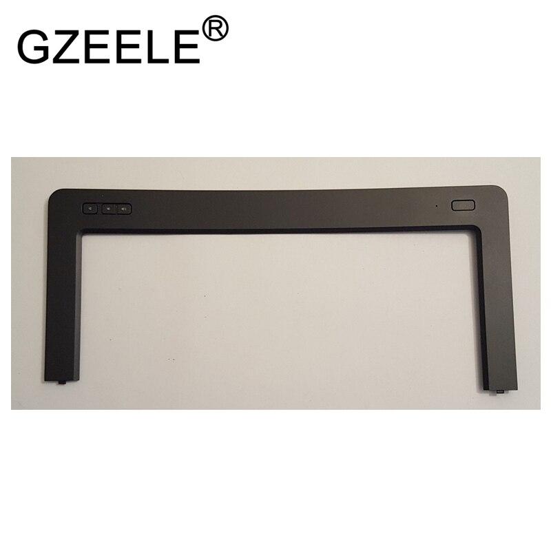GZEELE-غطاء لوحة مفاتيح Dell Latitude E5440 ، زر طاقة مع تقليم محيطي XFT6W 0XFT6W ، لون أسود