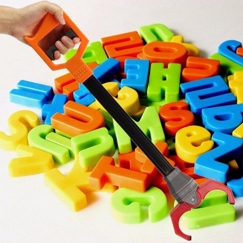 Совершенно новый пластиковый Ретро робот рука робота подобрать пинч инструмент детская игрушка простой в использовании лучший подарок для детей и взрослых
