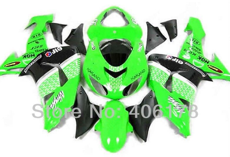 06 07 zx10r Cheap race fairings For Ninja ZX-10R 2006 2007 ELF Sport Motorcycle Fairings (Injection molding)