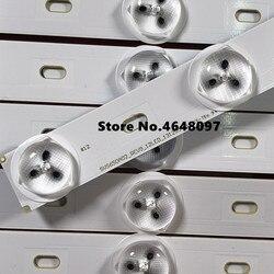 Set = 1 4 peças para Ph ili ps 65PUS9809 Retroiluminação LED TV SVS650A02-REV9_12LED SVS650A02_REV9_12LED_131205 LTA650FJ01