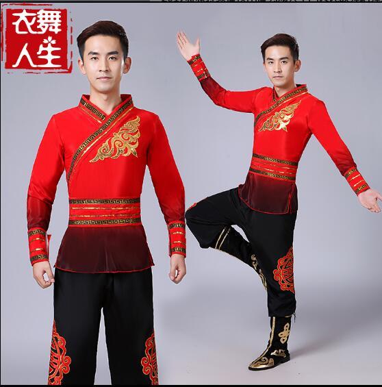 Tambor roupas chinês leão dança traje oriental folclórica clássica dança