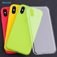 ithuriel for iphone x xr xs max case clear slim fit soft transparent color tpu for iphone 8 7 6s 6 plus cover ultra thin light