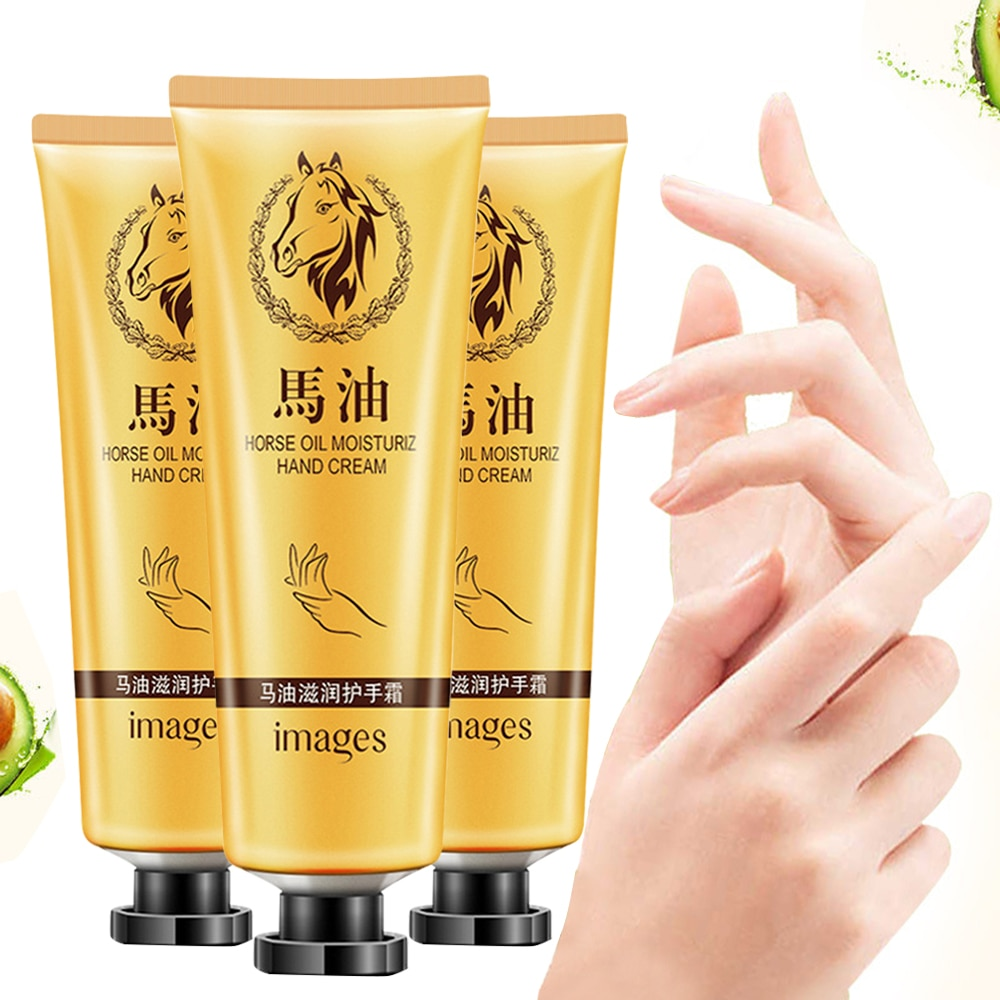 Horse Oil Nourish Hand Cream Moisture Nourishing Anti Chapping Hand Lotion Anti-Dryness Moisturizing