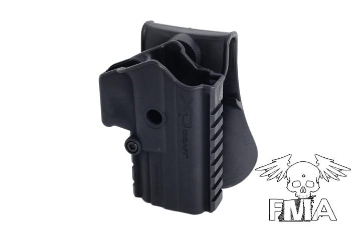 Funda FMA XD GEAR para GBB (tipo cinturón), accesorios de caza, funda para pistola, Airsoftsports, pistolera táctica, nuevo soporte para pistola